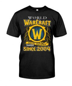 World Warcraft Social Distance Training Since 2004 T-shirt