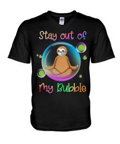 Yoya Sloth Stay out of my bubble V-neck