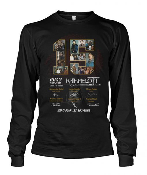 15 Years of Kamelot 2005-2020 long sleeved