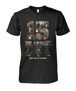15 Years of Kamelot 2005-2020 shirt