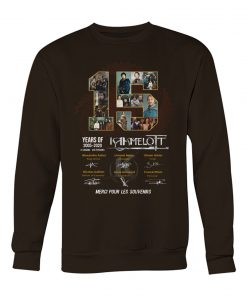 15 Years of Kamelot 2005-2020 sweatshirt