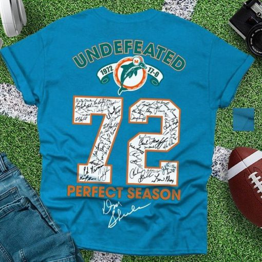 1972 Miami Dolphins season shirt