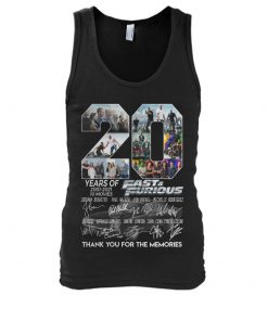 20 Years of Fast and Furious 2001-2021 Tank top