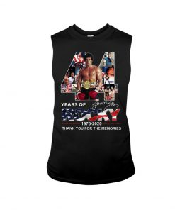 44 Years of Rocky 1976-2020 Thank you for the memories Tank top