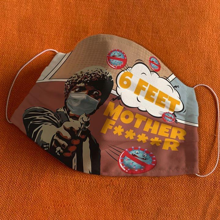 6 feet mother fucker Pulp Fiction mask 1