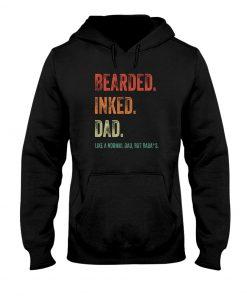 Bearded inked dad Hoodie