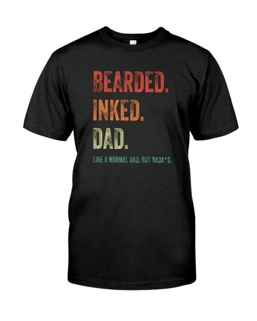 Bearded inked dad T-shirt