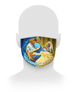 Beauty And The Beast Quarantined 2020 Cloth Mask Tagotee