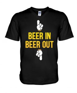 Beer in Beer out V-neck