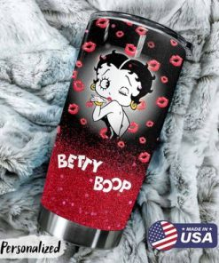 Betty Boop Personalized Tumbler1