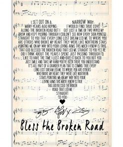 Bless the Broken Road Rascal Flatts lyrics poster1
