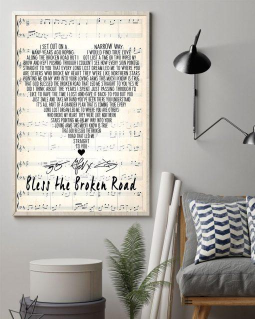 Bless the Broken Road Rascal Flatts lyrics poster2