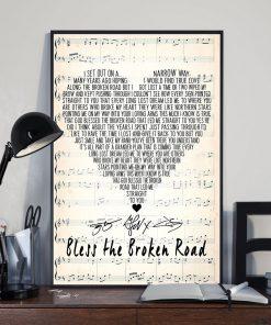 Bless the Broken Road Rascal Flatts lyrics poster3
