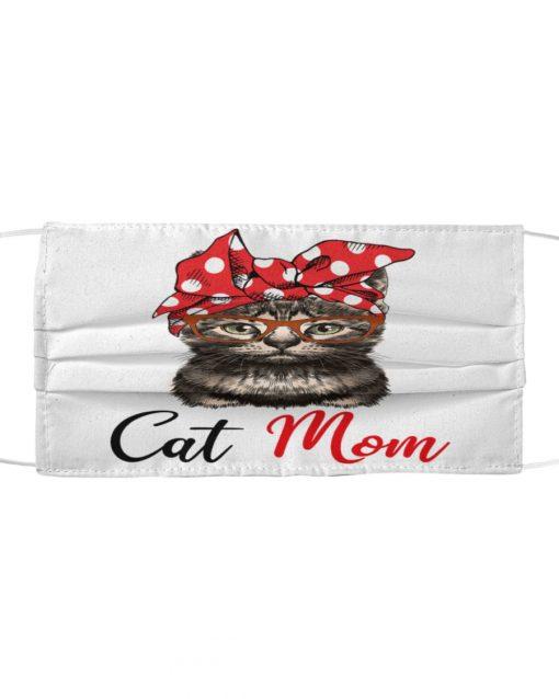 Cat Mom cloth mask