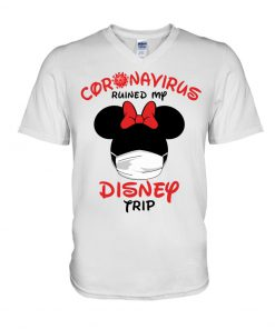 Coronavirus ruined my Disney trip v-neck