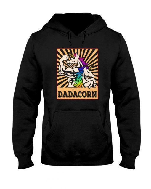 Dadacorn vintage hoodie