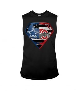 Dallas Cowboys and Ohio State Buckeyes super team tank top