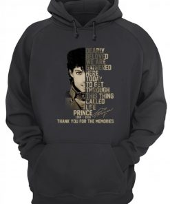 Dearly beloved, we are gathered here today Prince 1958-2016 hoodie