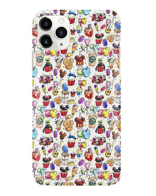 Disneyland cakes phone case 11