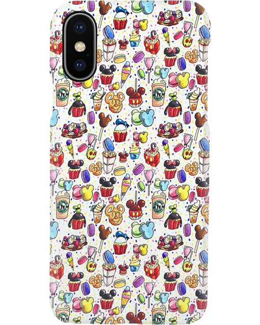 Disneyland cakes phone case x