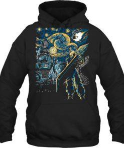 Final Fantasy Starry Night hoodie