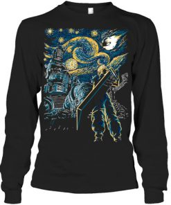Final Fantasy Starry Night long sleeved
