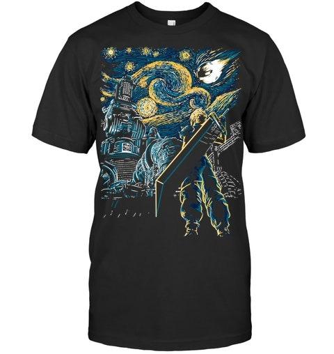 Final Fantasy Starry Night shirt
