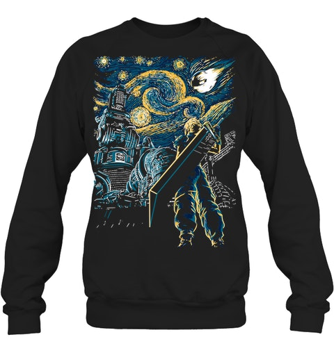 Final Fantasy Starry Night sweatshirt