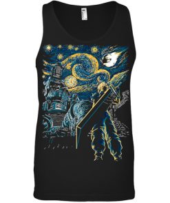 Final Fantasy Starry Night tank top