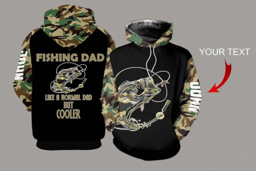 Fishing Dad Like a normal dad but cooler 3D hoodie