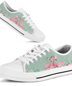 Flamingo's Flower low top shoes