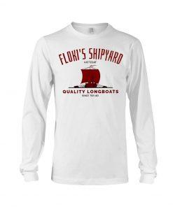 Floki's Shipyard Quality Longboats Long sleeve