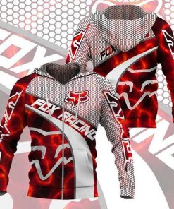 Fox Racing Red 3D hoodie