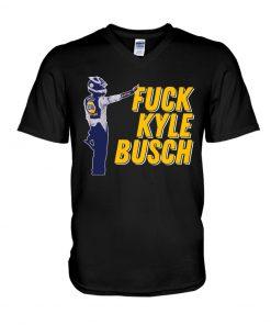 Fuck Kyle Busch V-neck