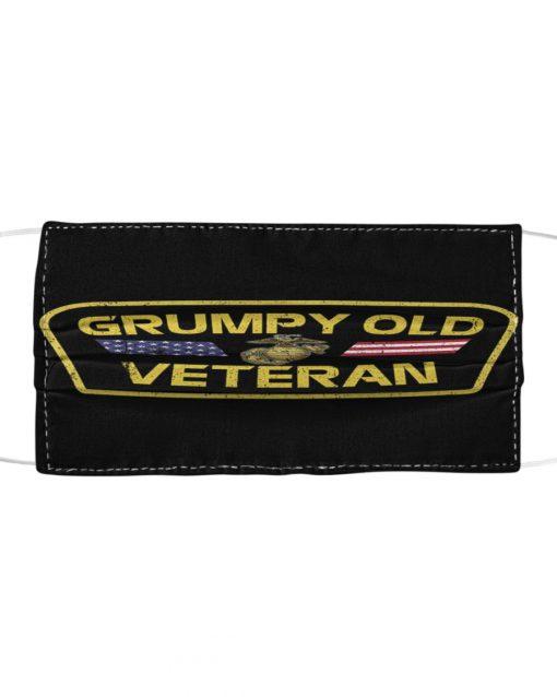 Grumpy Old US Marine Corps Veteran Mask
