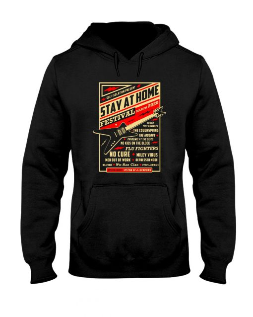 Guitar Stay at home Festival March 2020 Hoodie