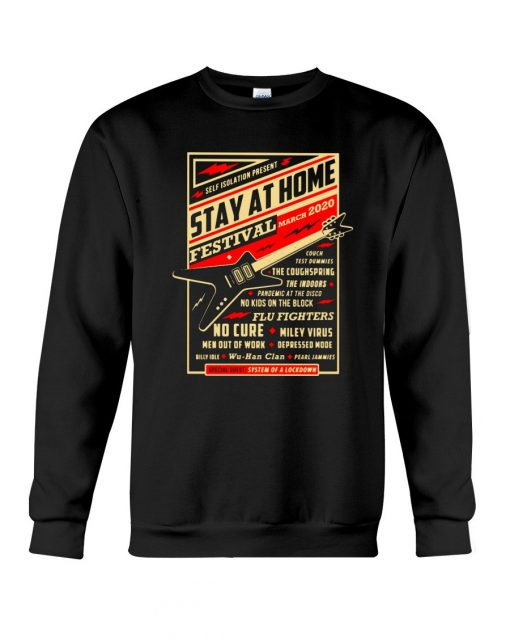 Guitar Stay at home Festival March 2020 Sweatshirt