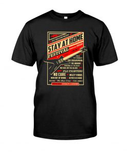 Guitar Stay at home Festival March 2020 T-shirt