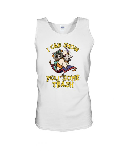 I can show you some trash Tank top