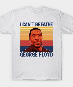 I can't breathe George Floyd shirt