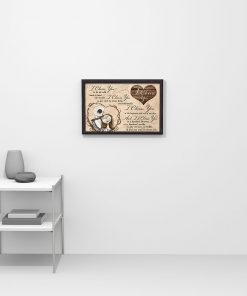 I choose you to do life with hand in hand side by side Jack Skellington and Sally poster poster 3