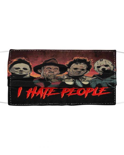I hate people Freddy, Leatherface, Jason, Michael mask1