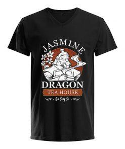 Jasmine Dragon Tea house V-neck