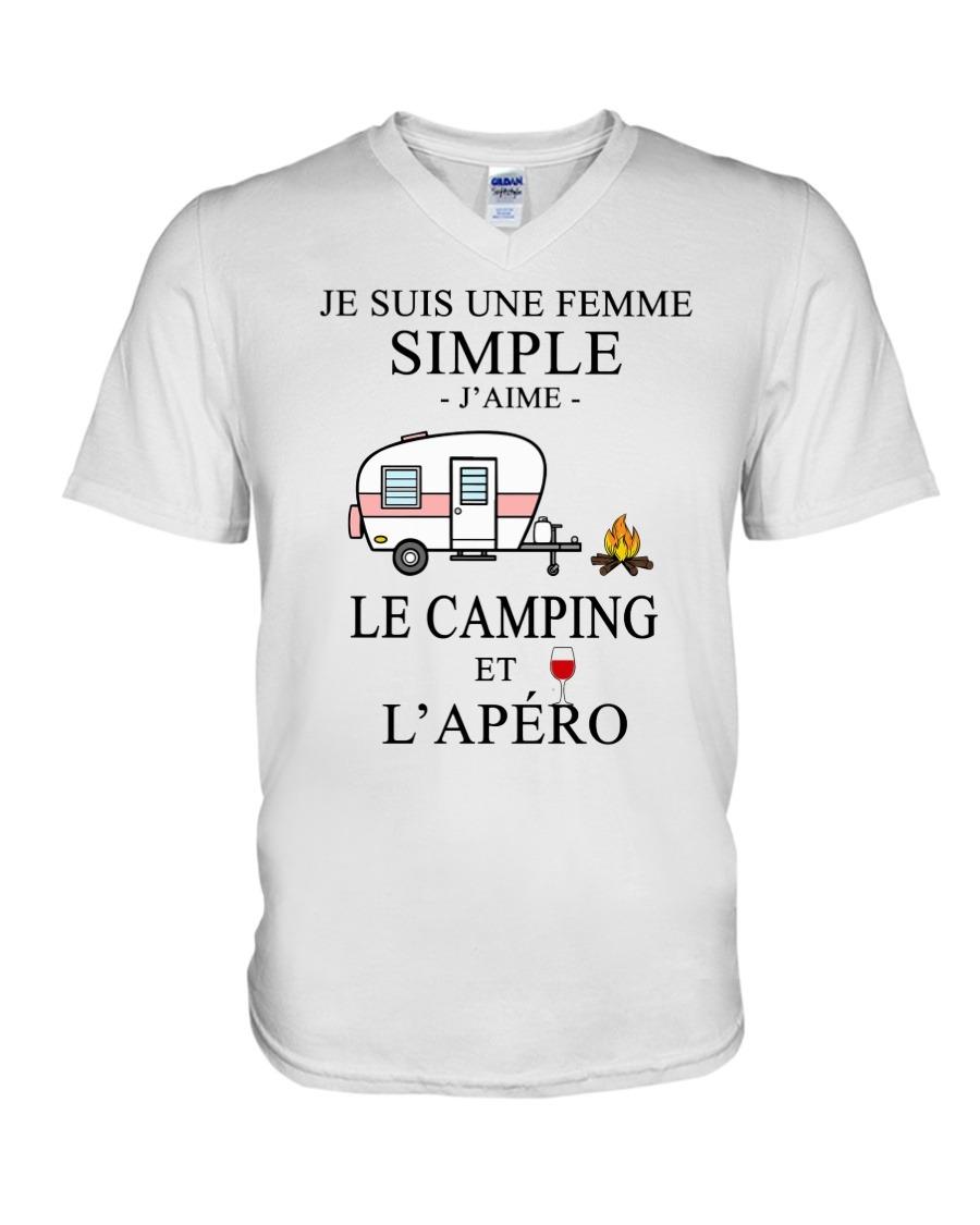 TEEZILY T-Shirt Femme Je suis Une Fille Simple Jaime Le Judo et lap/éro