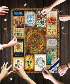 Jewish Culture Jigsaw Puzzle 2