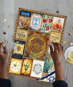 Jewish Culture Jigsaw Puzzle 3