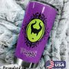 Maleficent magic personalized tumbler