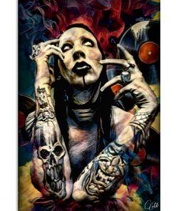 Marilyn Manson Art poster 1