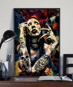 Marilyn Manson Art poster 3