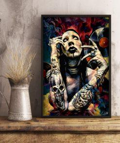Marilyn Manson Art poster 4
